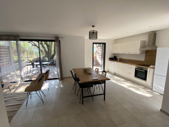 Location immobilière, duplex proche du centre-ville et du port de Porto-Vecchio
